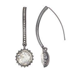 Simply Vera Vera Wang Round Drop Nickel Free Threader Earrings