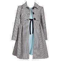 Girls 4-6x Bonnie Jean Textured Knit Coat & Knit Dress