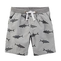 Baby Boy Carter's Shark Pull On Shorts
