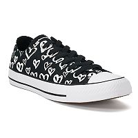 Women's Converse Chuck Taylor All Star Heart Print Sneakers