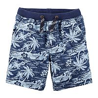 Baby Boy Carter's Palm Tree Knit Shorts