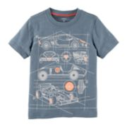 Baby Boy Carter's Race Cars Graphic Tee