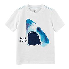 Baby Boy Carter's 'Snack Attack' Shark Graphic Tee