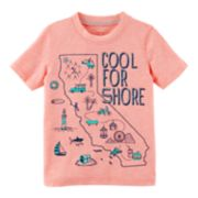 "Baby Boy Carter's ""Cool For Shore"" Graphic Tee"
