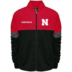 Men's Franchise Club Nebraska Cornhuskers Active Colorblock Jacket