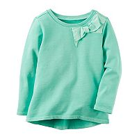 Girl's 4-8 Carter's Bow Sweatshirt