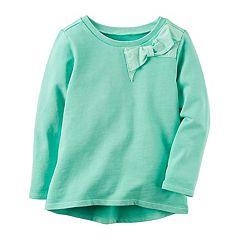 Girl's 4-8 Carter's Bow Sweatshirt