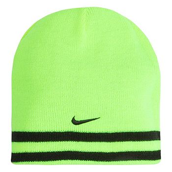01a2ef4468f Boys Nike Reversible Striped Beanie Hat