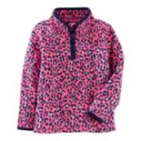 Girls 4-12 OshKosh B'gosh® Microfleece Half Zip Sweatshirt
