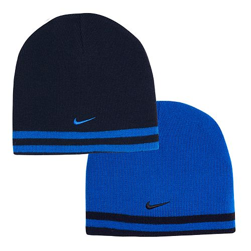 Boys Nike Reversible Striped Beanie Hat a516018370f