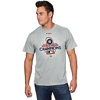 Men's Majestic Houston Astros 2017 World Series Champions Locker Room Tee