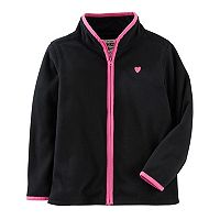 Girls 4-12 OshKosh B'gosh® Microfleece Zip Jacket