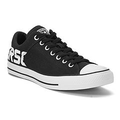 Men's Converse Chuck Taylor All Star High Street Sneakers. Black