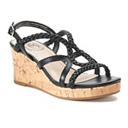 SO® Lion Tamer Girls' Wedge Sandals