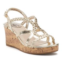 SO® Lion Tamer Girls' Wedge Sandals
