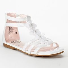 SO® Gymnast Girls' Gladiator Sandals