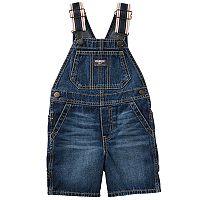 Baby Boy OshKosh B'gosh® Dark Denim Shortalls
