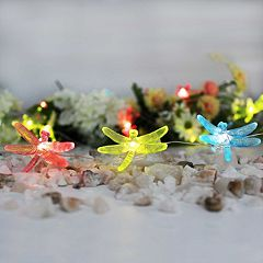 Manor Lane 10-ft. Dragonfly String Lights