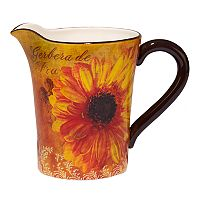 Certified International Gerber Daisy 112-oz. Pitcher 112oz