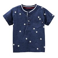 Baby Boy OshKosh B'gosh® Star Henley Top
