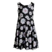 Girls 7-16 Emily West Patterned Reversible Dress