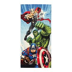 Marvel Avengers Battle Ready Beach Towel