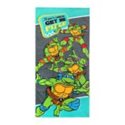 "Teenage Mutant Ninja Turtles ""Get Me Pizza"" Beach Towel"