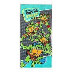 Teenage Mutant Ninja Turtles 'Get Me Pizza' Beach Towel