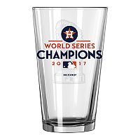 Boelter Houston Astros 2017 World Series Champions Trophy Pint Glass
