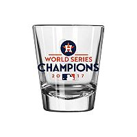 Boelter Houston Astros 2017 World Series Champions Trophy Shot Glass