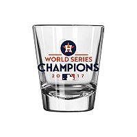 Boelter Houston Astros 2017 World Series Champions Trophy Shot Glass