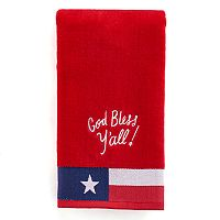 Celebrate Americana Together God Bless Y'all Hand Towel