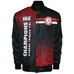 Men's Franchise Club Alabama Crimson Tide Fame Jacket