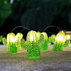 Manor Lane 10-ft. Cactus String Lights