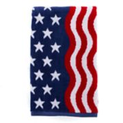 Celebrate Americana Together Wavy Flag Hand Towel