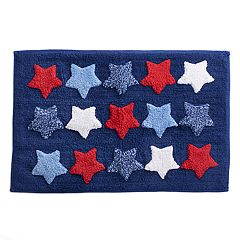Celebrate Americana Together Multi Stars Bath Rug