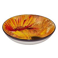 Certified International Gerber Daisy Serving / Pasta Bowl