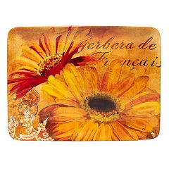 Certified International Gerber Daisy Rectangular Platter