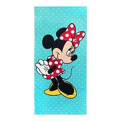 Disney's Minnie Mouse Blue Vibes Beach Towel