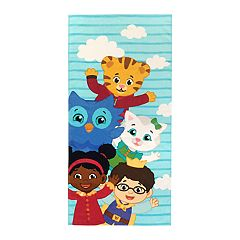 Daniel Tiger Friendly Neighbors Beach Towel