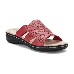 Womens Red Sandals Shoes Kohl S