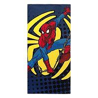 Marvel Spiderman Spidey Go Beach Towel