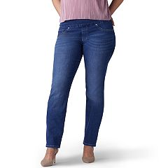 Plus Size Lee Sculpting Slim Leg Pull-On Jeans