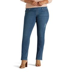 Plus Size Lee Rebound Pull-On Skinny-Leg Jeans