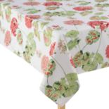 Laura Ashley Geranium Red Tablecloth