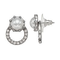 Simply Vera Vera Wang Doorknocker Nickel Free Drop Earrings