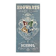 Harry Potter 'Hogwarts School' Beach Towel