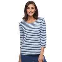 Women's Croft & Barrow® Pajamas: Crewneck Tee