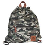 Buxton Expedition II Huntington Gear Drawstring Backpack