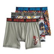 Boys 4-20 Justice League Boxer Briefs